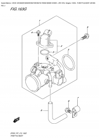 163G  -  Throttle  Body  (Df20A  P01) (163G - Дроссель газа (Df20A P01))